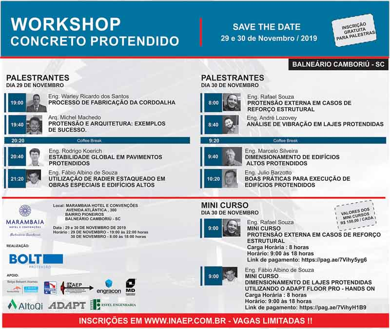 Workshop Concreto Protendido