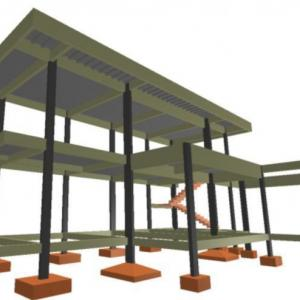 Projeto de fundação estacas